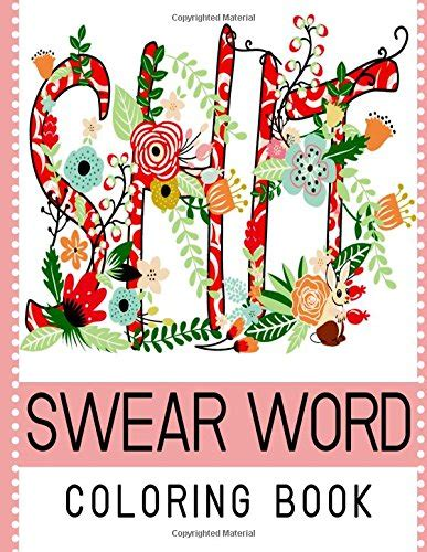 swear word coloring book  seller  adult coloring