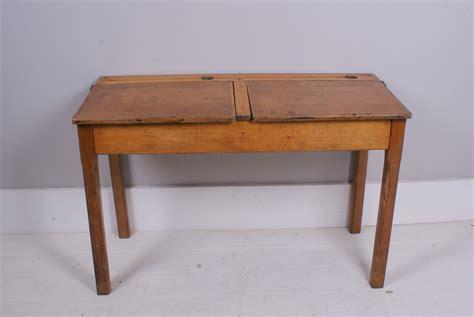 Children's Vintage Wooden Double School Desk « Blueticking