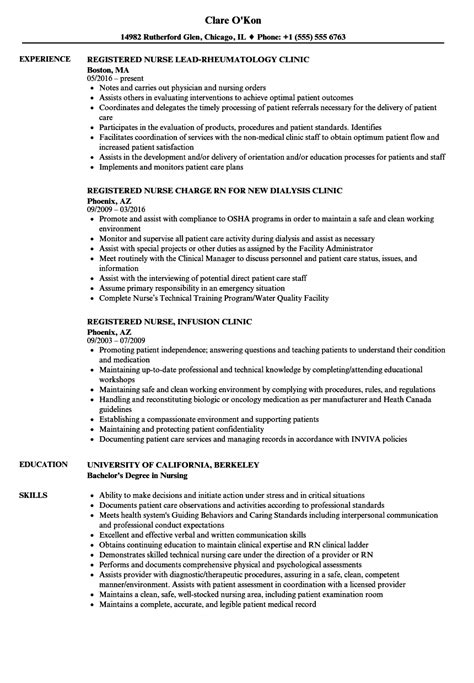 Sle Resume For Registered With No Experience by Magnificent Rn Bsn Resume Template Pattern Documentation