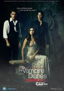 Poster promo season 4 Vampire Diaries Trio by KCV80 on ...