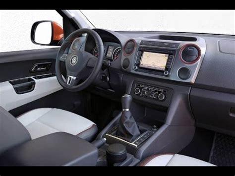 volkswagen amarok interior 2016 vw amarok interior youtube
