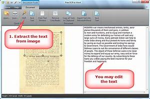 how to scan to word free ocr to word extract text With scanner documents to text