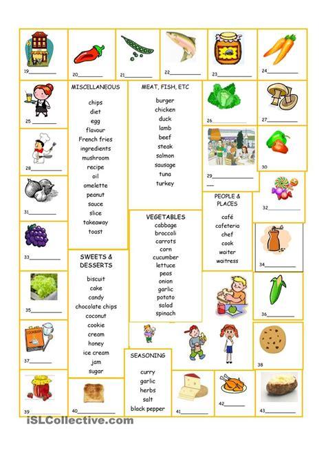 food and drink worksheet free printables worksheet