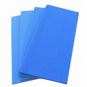 Plaque De Mousse : plaque de mousse 100 x 50 x 5 cm pour filtration 4 mod les ~ Farleysfitness.com Idées de Décoration