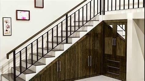 inspirasi desain tangga rumah minimalis 2 lantai