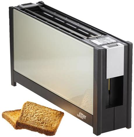 Slim Toaster 2 Slice by Ritter Volcano 5 Toaster