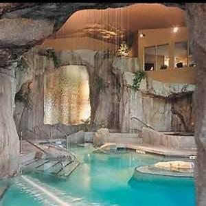 Indoor grotto pool | Future Home | Pinterest