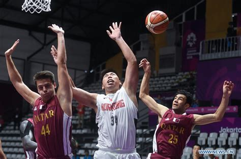 qatar beats chinas hong kong    mens