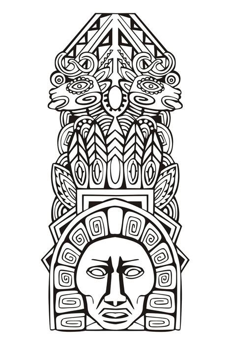 totem inspiration  mayan aztec  mayans incas