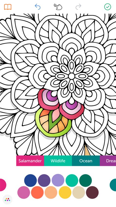 recolor coloring book app  adults coloring pages