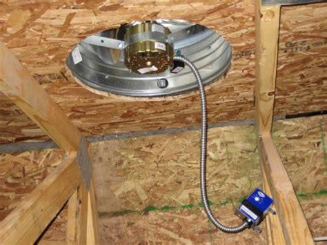 attic roof fan replacement attic fans milton electric company