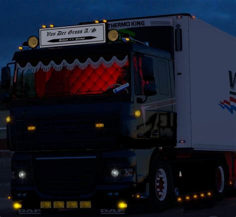 daf xf 105 low roof 1 28 tuning mod euro truck simulator 2 mods