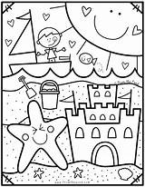 Coloring Pond Pages Club Preschool Summer Sheets Beach Fromthepond Coloriage Printable Colouring Depuis Enregistree Bricolage sketch template