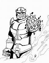 Thanos Coloring Gauntlet Iron Edward Scissorhands Colorir Desenho Personagem Infinity Galactus Coloriage Dessin Imprimer War Kleurplaat Marvel Drawings Imprimir Getdrawings sketch template