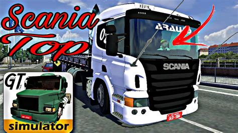 grand truck simulator skin top para scania r360