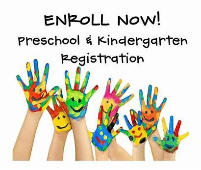 Preschool Registration Kindergarten Pre Register Flyer Prek