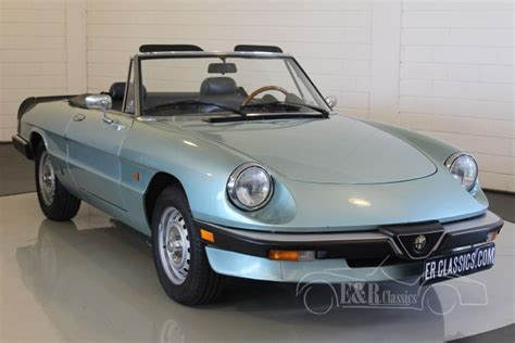 Alfa-romeo Spider 2.0 1985 For Sale At Erclassics