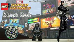 Black Bolt.LEGO Marvel Super Heroes - YouTube
