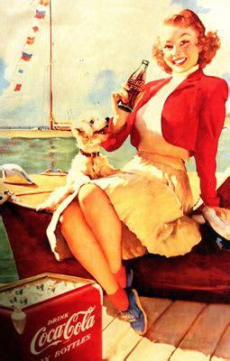 hottest women  vintage coca cola ads complex