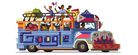 philippines jeepney drawing philippines independence day 2016