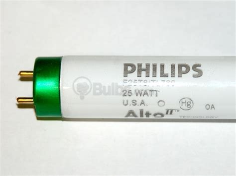 philips 25 watt 36 inch t8 warm white fluorescent bulb