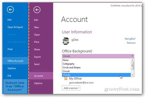 Outlook 2013 Background Color How To Change The Office 2013 Background Theme