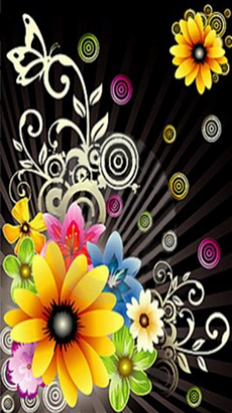Animated Mobile Phone Wallpapers Flowers - animated flower wallpapers for mobile phones