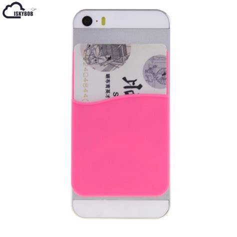 In case that you have glass back phones such as iphone x, iphone 8, iphone 8 plus, iphone 7 matte black/jet black, iphone 7 plus matte/jet black, we recommend you to use an appropriate. Aliexpress.com : Buy 3M Adhesive Sticker Back Cover Card Holder Silicone Small Bus Card Case ...