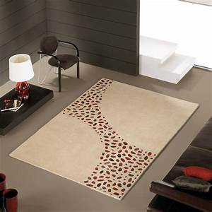 beautiful tapis marron et rouge images awesome interior With tapis marron beige