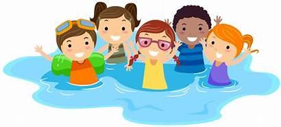 Swimming Clipart Cartoon Lessons Swiming Swim Clip