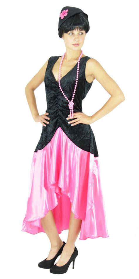 20er jahre kleid damen 20er jahre gatsby kleid kost 252 m f 252 r damen in pink gr s