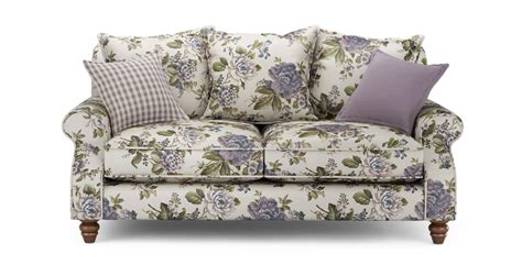 Patterned Loveseat by Ellie Floral 2 Seater Sofa Ellie Floral Dfs