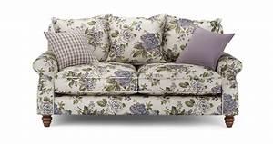 ellie floral 2 seater sofa ellie floral dfs With floral sofa bed