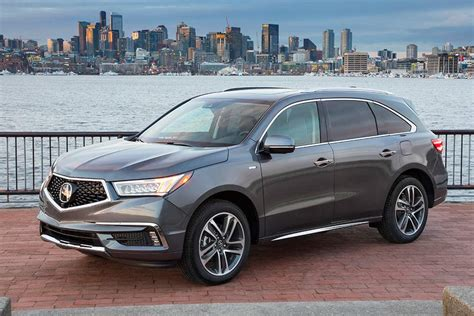 Acura Mdx Cars by 2018 Acura Mdx Sport Hybrid New Car Review Autotrader