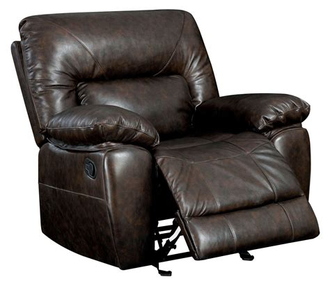 grain leather recliner stallion top grain leather match recliner from furniture