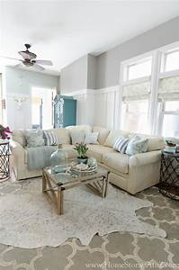 Dorian Gray Family Room Reveal with Gallery Wall - Home