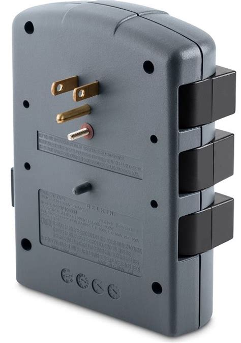 surge wall protector mount outlet protectors mounted protection belkin pivot electrical