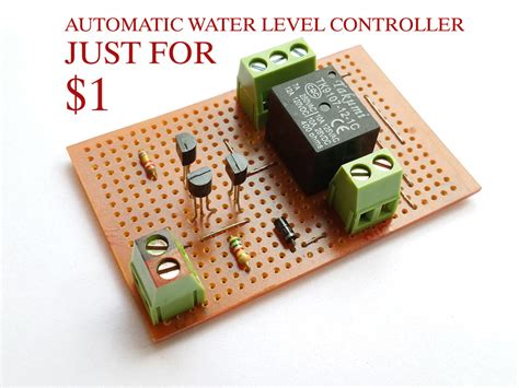 Automatic Water Level Controller Steps With Pictures