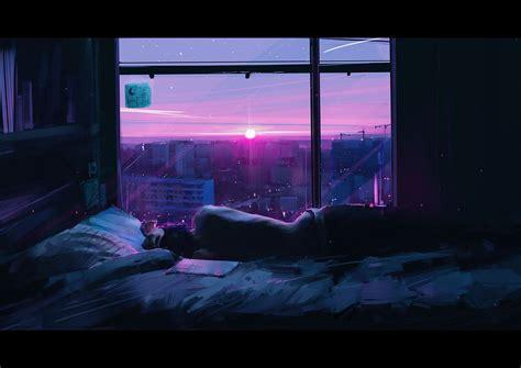 aesthetic anime bedroom
