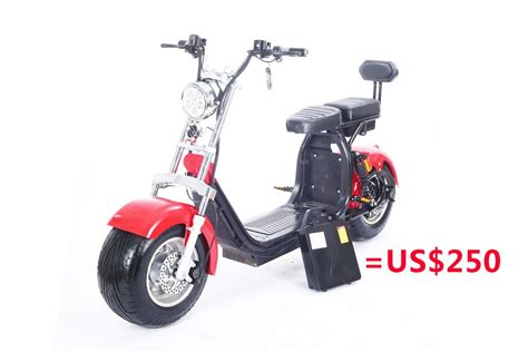 scooter electrique citycoco bike rooder seev woqu city coco electrique big wheel electric e scooter harley with