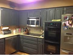 Painted Kitchen Cabinets Before And After Grey by Wilker Do 39 S Using Chalk Paint To Refinish Kitchen Cabinets