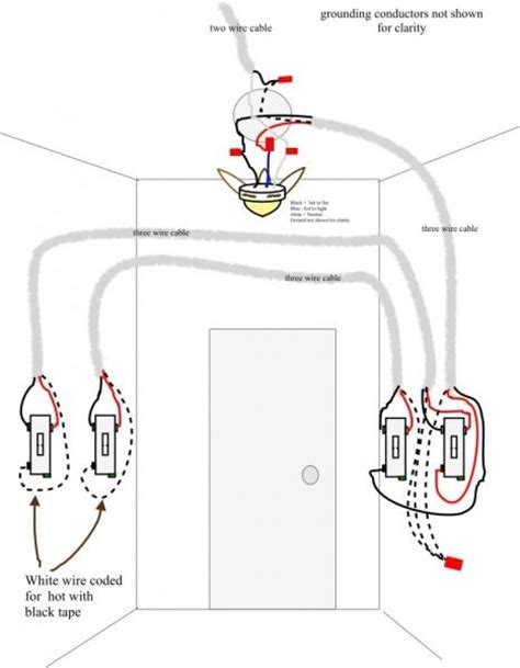 3 way switch wiring diagram ceiling fan pull wiring library