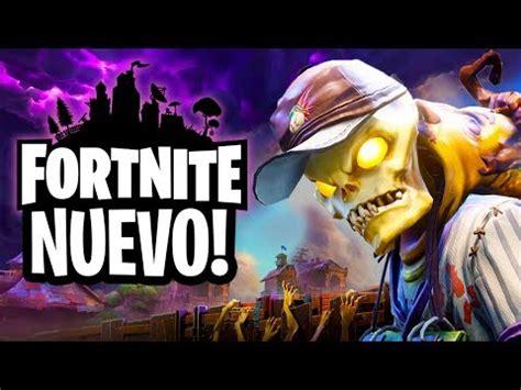 fortnite el nuevo poderoso juego de zombies youtube