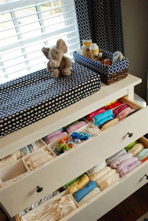 Ideen Organisation Kinderzimmer by Kinderzimmer Organisation Baby Kleidung In Schublade