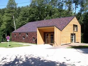maisons bois maisons bois auto maison bois isre kit With photo bardage bois exterieur 2 maisons en ossature bois ou en bois massif rt e2