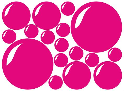 set    bubbles bubble decal sticker vinyl wall art