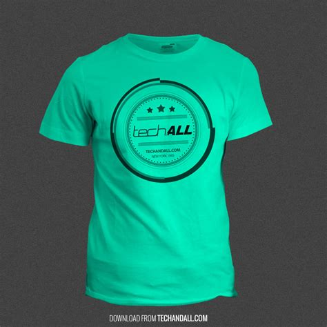 shirt mockup  smartobject psd tech