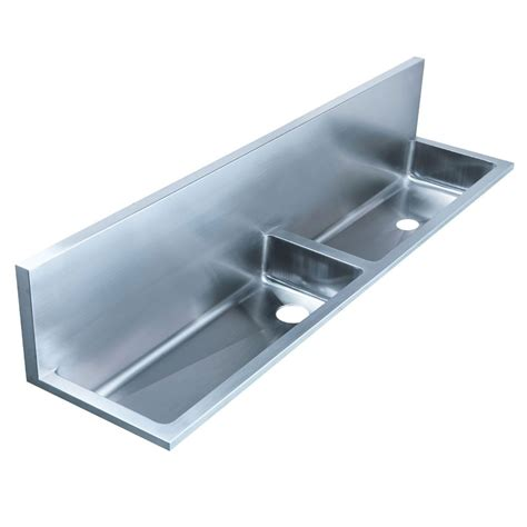 Stainless Steel Laundry Sink by Whitehaus Bowl Wall Mount Stainless Steel Utility