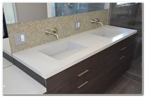 bathroom countertop with built in sink countertops with built in sink bathroom sink and faucet