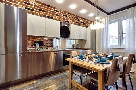 Home Interior 1409 : Дизайн кухни в стиле лофт (40 фото), кухня в